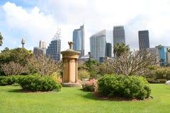 Sydney - vista della città Immagine Stock Libera da Diritti