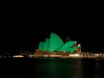 Sydney Vivid festival Stock Photography