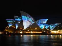 Sydney Vivid festival Royalty Free Stock Image
