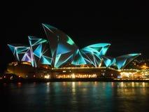 Sydney Vivid festival Stock Image