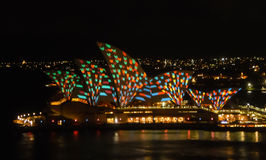 Sydney Vivid festival Royalty Free Stock Photos