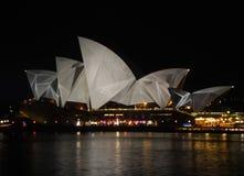 Sydney Vivid festival Stock Photography