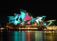 Sydney Vivid festival Stock Photos