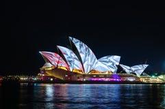 Sydney Vivid show Royalty Free Stock Photo