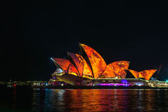 Sydney Vivid show Stock Photography