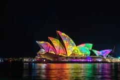 Sydney Vivid show Stock Images