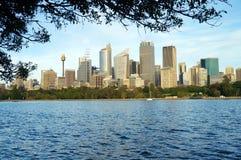 Sydney vom Watson-Schacht Stockfotos