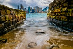 Sydney Water imagens de stock
