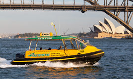 Sydney water taxi Royalty Free Stock Photo