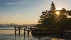 Sydney Watsons Bay Imagen de archivo libre de regalías
