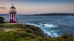 Sydney Watsons Bay. The rugged coast line of the Gap, Sydney Harbour South Head, Sydney, Australia Royalty Free Stock Photos