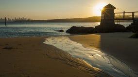 Sydney Watsons Bay. The rugged coast line of the Gap, Sydney Harbour South Head, Sydney, Australia Stock Photo