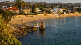 Sydney Watsons Bay. The rugged coast line of the Gap, Sydney Harbour South Head, Sydney, Australia Stock Images