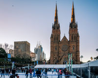 Sydney Winter Festival Stock Photography