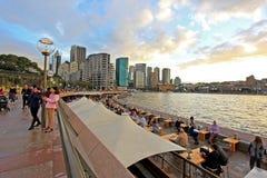 Sydney y puerto Fotos de archivo libres de regalías