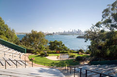 Sydney ZOO and city skyline Stock Photography