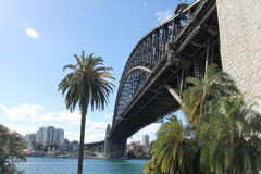 Sydneys Hafen-Brücke Lizenzfreie Stockfotografie