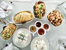 Sydostlig asiatisk kokkonst Royaltyfria Bilder