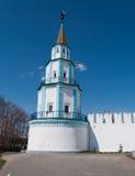 Sydostligt torn av Raifa den manliga Bogoroditssky kloster. Tatarst Royaltyfri Bild