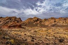 Sydvästklippor av Utah royaltyfria bilder