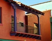 Sydvästlig balkong Royaltyfri Foto