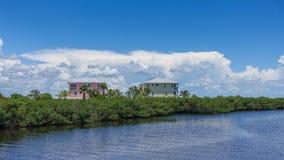 Sydvästlig Florida Matlacha ö Fotografering för Bildbyråer
