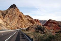 Sydvästlig huvudväg Arkivbild