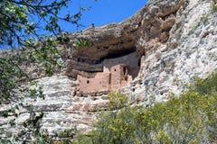 Sydvästliga Cliff Dwelling royaltyfri fotografi