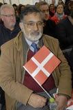 SYED TAUQIR HASSAN BOKHARI_CELEBRATES CITIZNSHIP Fotografie Stock Libere da Diritti