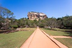 Sygiriya, buddhistic landmark of Sri Lanka stock photography