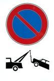 sygnał transportu ilustracja wektor