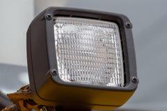 Sygnałowy headlamp ochraniający gretingiem od ciężkiej ciężarówki dla wewnątrz fotografia royalty free