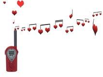 sygnały miłości Zdjęcie Stock