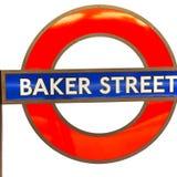 sygnałowa ulica w lo ndon England Europe starej przewiezionej ikonie zdjęcia stock