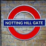sygnałowa ulica w London England Europe starej przewiezionej ikonie fotografia stock