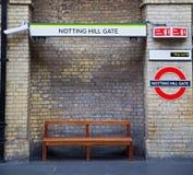 sygnałowa ulica w London England Europe starej przewiezionej ikonie obraz royalty free