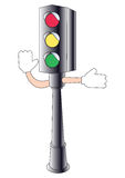 sygnałowy ruch drogowy royalty ilustracja