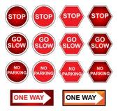 sygnałowy ruch drogowy ilustracja wektor