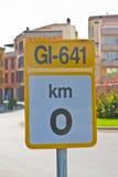 sygnałowy ruch drogowy Obraz Royalty Free