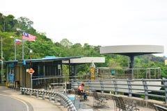 Sygnałowy wzgórza obserwatorium wierza w Kot Kinabalu, Malezja Zdjęcie Stock