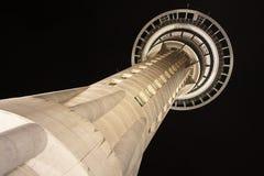 Syk torn av Auckland arkivbild