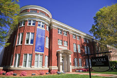 Sykes Learning Center at Queens University. The McColl School of Business royalty free stock photography