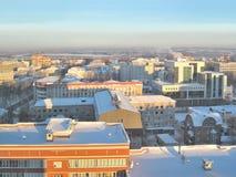 Syktyvkar im Winter stockfotos