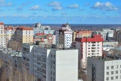 Syktyvkar-Stadt, Komi-Republik stockfoto