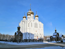 Syktyvkar. Stephen of Perm Cathedral Royalty Free Stock Photos