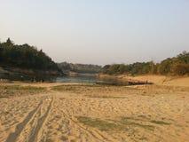 sylhet的小的地方 库存图片