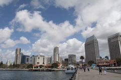 Syline in San Diego California Stock Photography