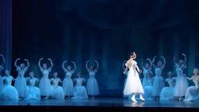 Sylphs do balé clássico video estoque