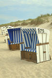 Sylt beach chairs Stock Image
