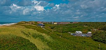 Sylt island, North Sea, Germany.  royalty free stock images